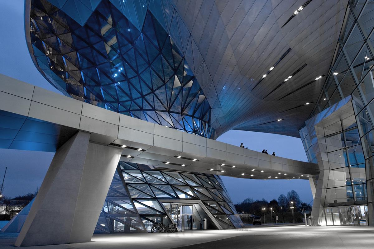 BMW Weld München Auditorium Exterieur