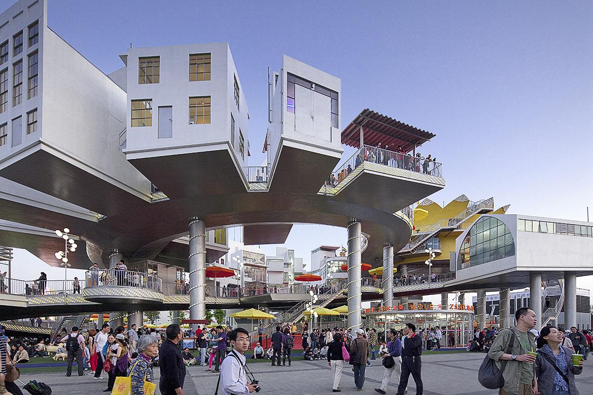 Shanghai World Expo Pavilioen Nederland