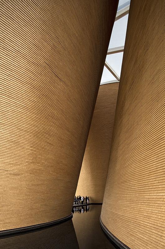 Shanghai World Expo Pavilioen Wanke - Kartonnen wanden